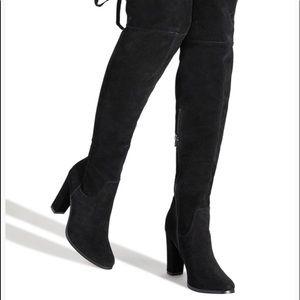 OTK Block heeled boots.